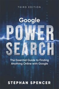 Google Power Search by Stephan Spencer